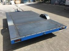 ENCLOSED BIKE TRAILER CARAVAN CHASSIS 3.3x1.9MTR SUIT DIY REBUILDS 750KG ATM