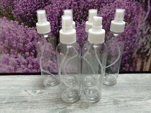 Sprühflaschen 9x 200 ml Zerstäuber PET Sprüher