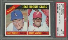 1966 Topps Gum #591 Grant Jackson ROOKIE PSA  EX-MT 6 Short Print High Number!
