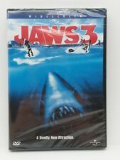 Jaws 3 (Widescreen) (Dvd) Brand New. Sealed.