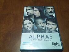 RARE 2012 Alphas Syfy Press Screener Promo DVD 1 Episode TV Show