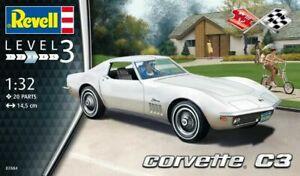 Revell 1:32 scale model kit - Corvette C3  RV07684