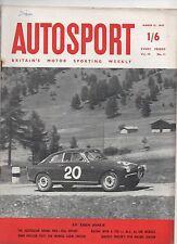 Autosport March 15th 1957 *Australian Grand Prix*