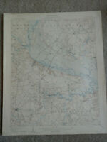 22x29 1908 USGS Topo Map Winton, North Carolina Ahoskie Chowan River Wiccacon