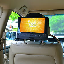 TFY Car Headrest Mount Holder for 7inch Swivel & Flip Style Portable DVD Players