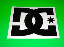 DC SHOES DC SHOE CO USA BLACK GARAGE TRAILER TRUCK CAR BACK WINDOW STICKER DECAL