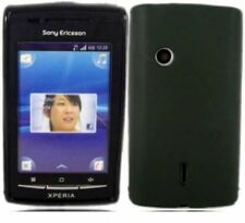 Black Gel Case for Sony Ericsson XPERIA X8