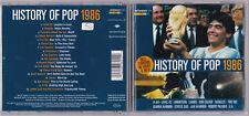 HISTORY OF POP 1986 - (A-HA, Robert Palmer, Level 42) CD near mint
