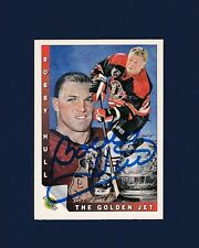 Bobby Hull signed Chicago Blackhawks 1992 Ultimate hockey card