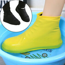 Waterproof Shoes Covers Silicone Reusable Wear-Resistant Anti-Slip Rain Boots