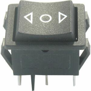 1 Stück Wipptaster Funktion 2x TAST-AUS-TAST Polwendeschalter 16A @ 250VAC