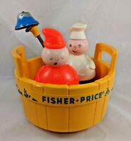 Fisher Price Three Men in a Tub Playset 1970