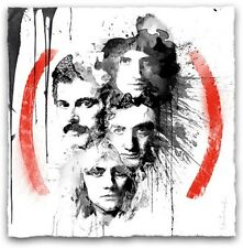 Mr Brainwash Queen Product (Red) Silk Screen Art Print Signed & Numbered Ed 150
