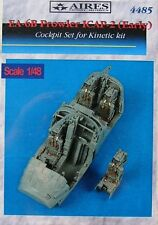 Aires 1/48 ea-6b PROWLER CIAP - 2 (Early) cockpit set per KINETIC KIT # 4485 *