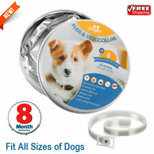 """25"""" Flea And Tick Collar For 8 Months Dog Natural Essential Oil Full Protection"""
