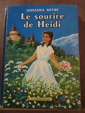 Johanna Spyri: Le Sourire de Heidi/ Flammarion, 1978