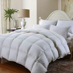 15 Tog Duck Feather & Down Duvet Heavy Thick & Warm Winter Quilt ~ All Bed Sizes