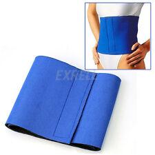 Pancera Fascia Elastica DIMAGRANTE Blu Neoprene Dimagrire Fitness Slim