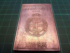 New listing Greece - Greek big Medal Πατ�ιωτικου Ιδ�υματος Κ.Π.Α 1914-1964 Rare!