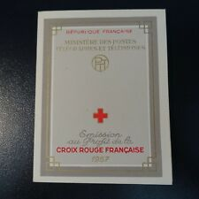 FRANCE CARNET CROIX ROUGE RED CROSS 1957 N°2006 NEUF ** LUXE MNH COTE 90€