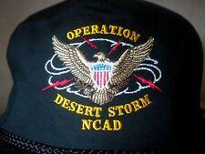Vintage Operation Desert Storm NCAD Snapback Hat New Cumberland Army Depot Cap
