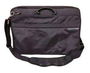 Briggs & Riley Travelware Nylon Laptop Bag Computer Briefcase Crossbody Black