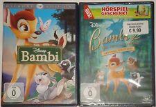 Bambi 1 und 2 DVD Bambi Diamond Edition + Bambi Teil 2 NEU OVP