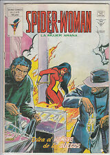 SPIDER WOMAN LA MUJER ARAÑA V.1 - Nº 12 MUNDI COMICS (VERTICE 1980)