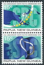 Papua Neuguinea - Südpazifische Kommission Satz postfrisch 1972 Mi. 217-218