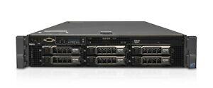 Dell R710 - 12 Cores, up to 128GB RAM, iDRAC,  Fully Configurable 2U Server
