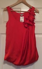 H&M Red Top, Size 8, Bnwt
