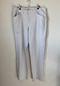 Eddie Bauer Size 12 Horizon Roll Up Pants EUC