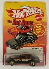 HOT WHEELS 1982 THE HOT ONES MUSTANG S.V.O No.9531 NEW in BP MALAYSIA