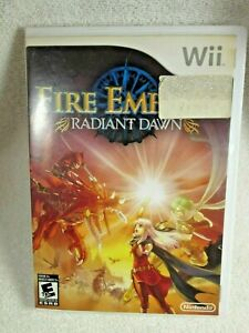 Fire Emblem: Radiant Dawn (Wii, 2007) Case Only Authentic!  No manual or Game