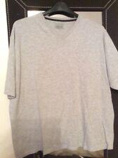 Mens Plain Grey Tshirt Size Xxl