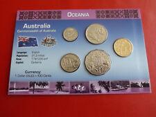 * Australia KMS blister/* 5 cent - 1 dollari * 5 monete (alb 8)