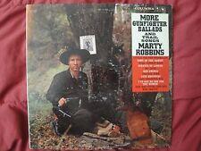"MARTY ROBBINS MORE GUNFIGHTER BALLADS & TRAIL SONGS 12"", 1960, 33 RPM, COWBOY LP"