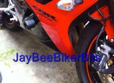 HONDA CBR600RR 2009 2012 CRASH PROTECTION SLIDERS BUNGS BOBBINS PUCKS KNOBS R8C3