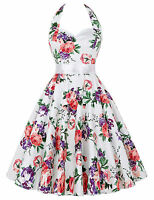 Grace Karin Vintage Housewife 50s Swing Pin Up Evening Party Cocktail TEA Dress