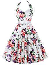 PLUS SIZE Vintage Women 50s 60s Swing Pin Up Evening Party Cocktail TEA Dress