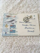 Royal Mail GPO First Day Cover RAF Golden Jubilee, 50 Years 29th May 1968