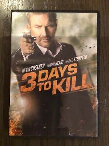 3 Days to Kill (DVD, 2014)