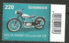 Österreich Scott # 2554 MNH Motorräder 2015 Delta Gnom 123ccm Lm 125