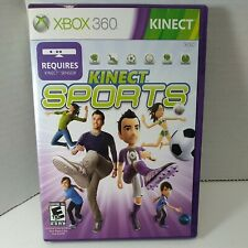 Kinect Sports (Microsoft Xbox 360) GAME DISC & CASE BOXING TRACK & FIELD BOWLING