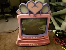 """Disney Princess 13"""" Tv Dt1350-P Plus  00006000 Dvd Vcr Combo Player With Remotes - Pink"""