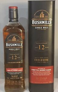 Bushmills 12 Years - First Fill Sherry Casks - Exclusive Édition - 70cl - 40%