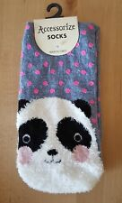 BNWT Accessorize Panda Socks. One Size. Spotty Socks