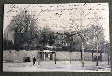 CPA. LE MANS. 72 - LYCÉE de Garçons. Bureau de l'OCTROI. 1908.