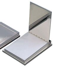 More details for silver writing desk notepad stylish home office work mens womens gift engraved