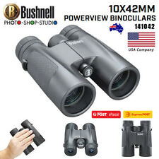 AU*Bushnell 141042 |10 x 42 mm Powerview Binocular (Black ,Standard)